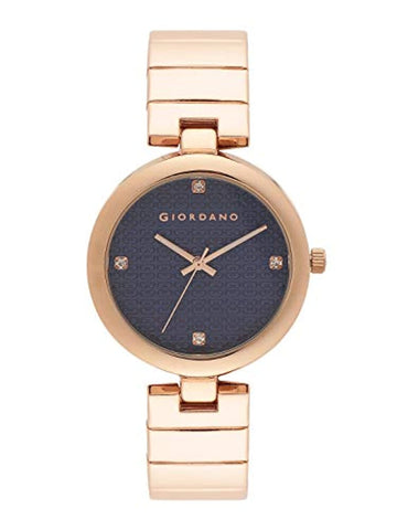 Analog Blue Dial Women's Watch