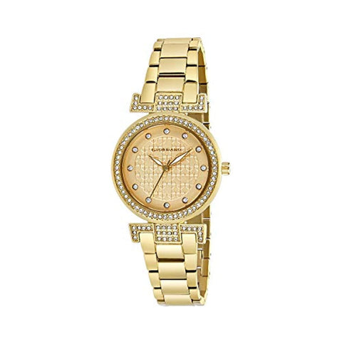 Analog Gold Dial Women's Watch