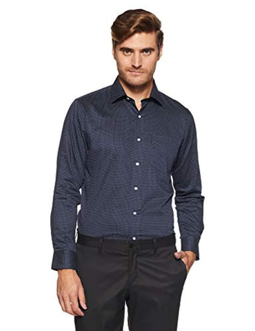 Van Heusen Printed Slim Fit Formal Shirt