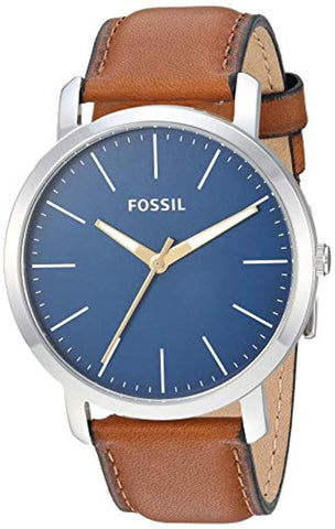 Analog Blue Dial Men's Watch