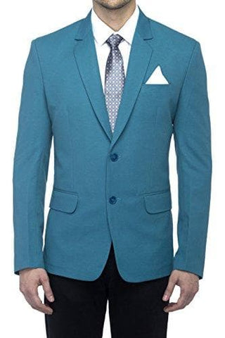 Turkish Green Slim Fit Blazer