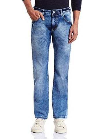 Pepe Fogg Blue Zip Fly V Slim Fit Jeans