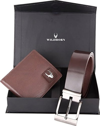 Men's Wallet Belt (GIFT SET BOX)