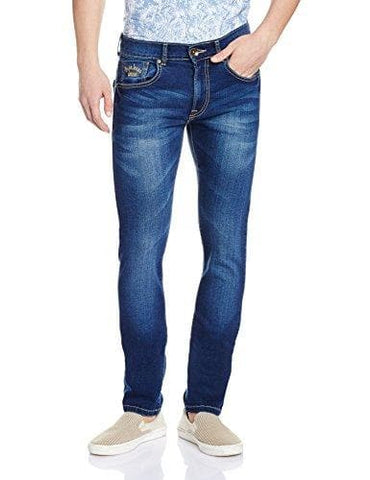 Pepe Blue Zip Fly Vapour Slim Fit Jeans