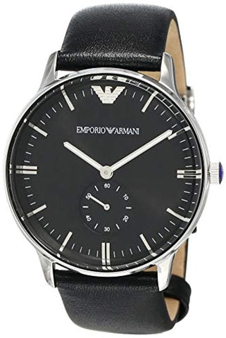 Classic Analog Black Dial Men's Watch