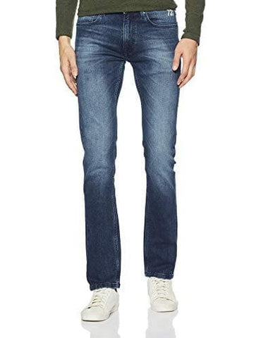Pepe Button Fly Vapour Slim Fit Jeans