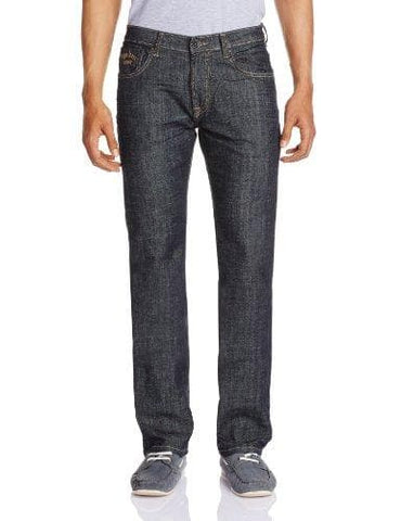 Pepe Stretch Cotton Dark Washed Zip Fly Slim Fit Jeans