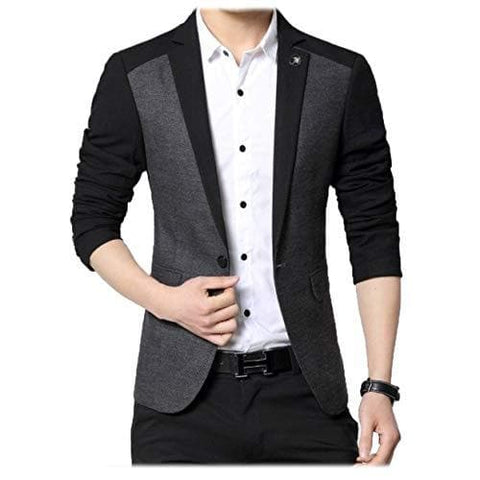 Single Breasted Slim Fit Party Blazer