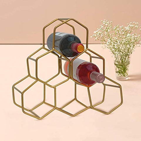 Wine Rack for Storing Bottle at Home/bar/Restaurant Storage Stand for Mini bar Counter or Cabinet/Table