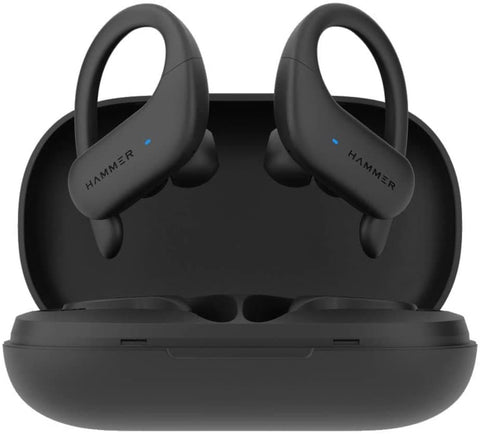 True Wireless in-Ear Earbuds Earphones Bluetooth 5.0 in-Built Mic 5H Playtime Range 10M Auto Pairing Sports Headset Deep Bass Full Touch Control