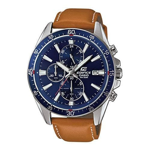 Edifice Analog Blue Dial Watch