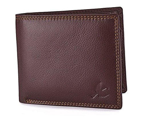 Brown Stella Genuine Leather RFID Blocking Wallet