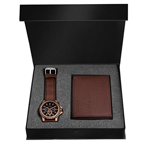 Watch and Wallet Combo for Men