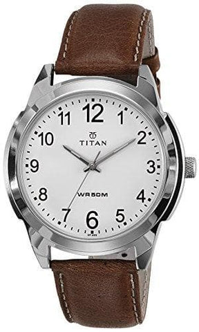 Analog White Dial Watch