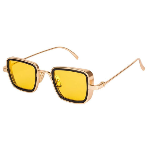 Metal Body Square Sunglasses