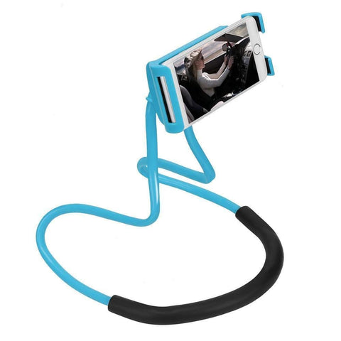 Neck Stand 360 Degree Rotation Flexible Multi-Function Creative Mobile Phone Holder