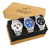 Pack of 3 Multicolour Analog Analog Watch