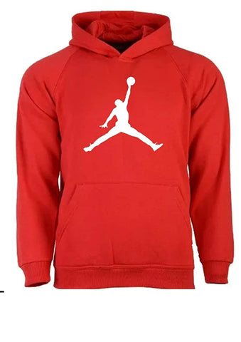 Basketball Graphic Printed Unisex Warm Cotton Hoodie Pullover