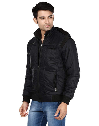 Polyester Full Sleeve Solid Jacket