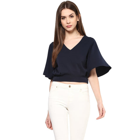 Women's Plain Regular Fit Top