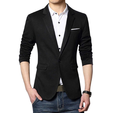 One Button Slim fit Blazer