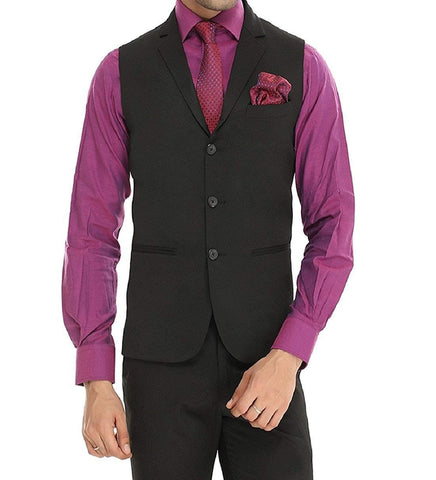 Single Breast 3 Button Waist coat