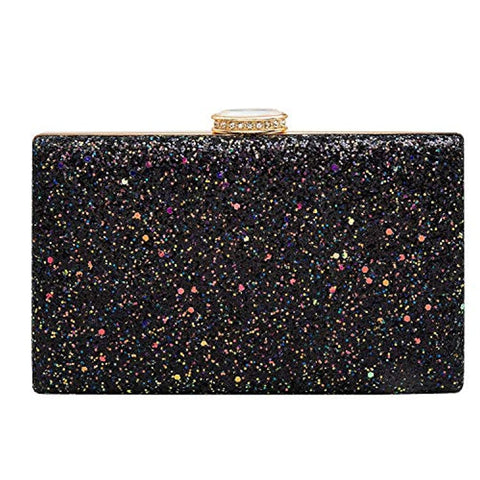 Women Sparkling Clutches Elegant Glitter Evening Handbags