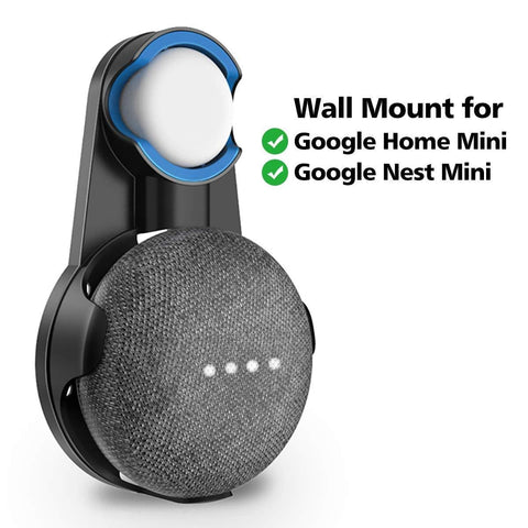Wall Mount Bracket Compact Invisible Plug-in Case for Google Nest Mini 2nd Gen