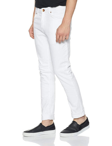 Zip fly White Skinny Fit Jeans