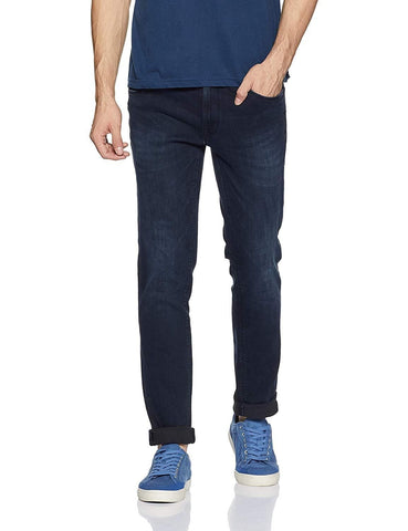 Pepe Blue Button Fly Slim Fit Jeans