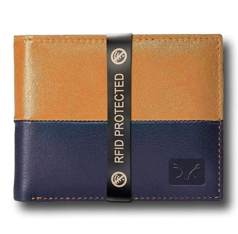 Stylish RFID Protected Genuine Leather Wallet