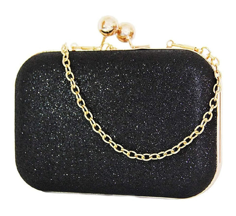 Handicraft Party Wear Beautiful Bling Box Clutch Bag Purse