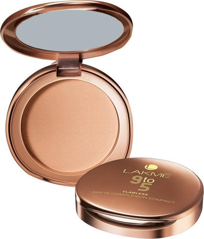 Almond Lakme 9 to 5 Flawless Matte Complexion Compact