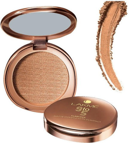 Apricot Matte Lakme 9 to 5 Flawless Matte Complexion Compact