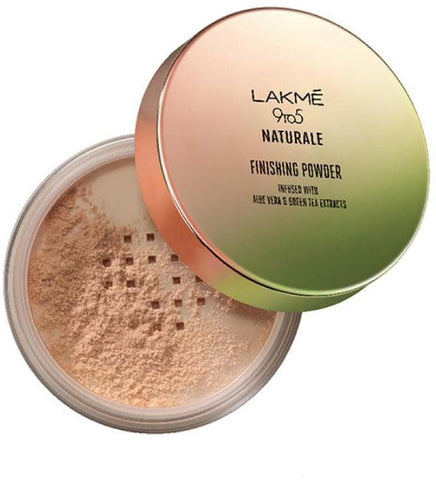 Beige Lakme 9 to 5 Naturale Finishing Powder Compact