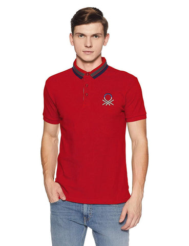 100% Cotton Short Sleeve Solid Regular Fit Polo