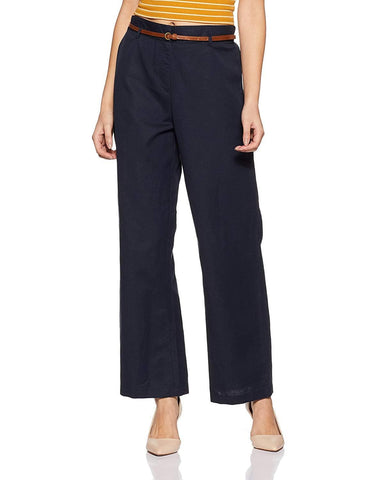 Full Length Linen Cotton Relaxed Fit Pants