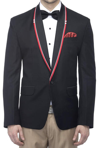 Shawl Lapel Festive Evening Designer Slim Fit Blazer