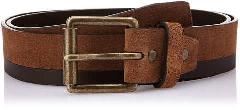 Worn Look Finish Leather Belt