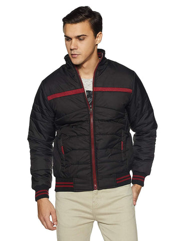 Nylon Long Sleeve Quilted Jacket