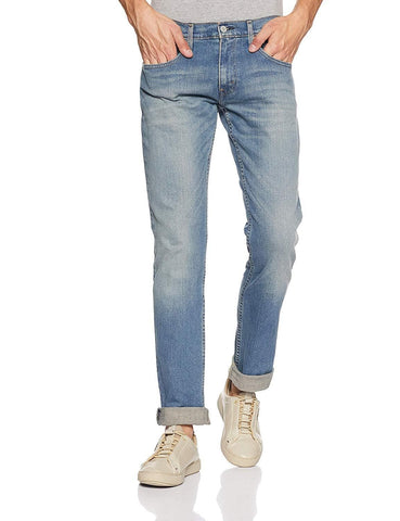 Levi's Blue Zip Fly Skinny Fit Jeans