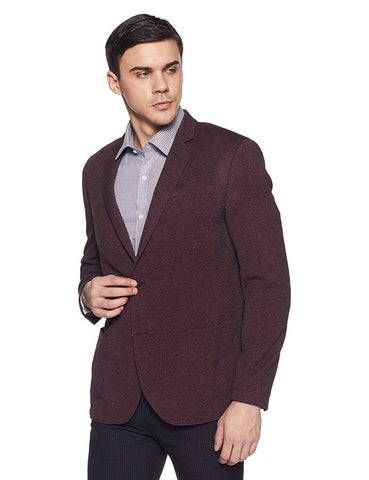 Notch Lapel Regular Fit Blazer