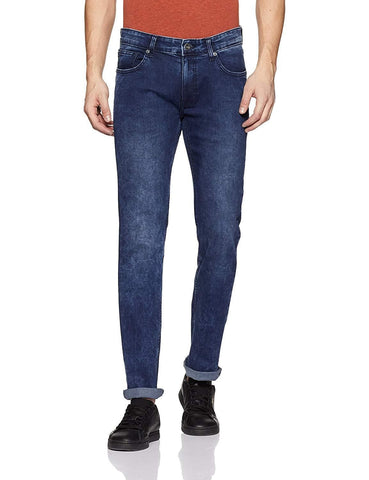 Pepe Blue Zip Fly Skinny Fit Slim Fit Jeans