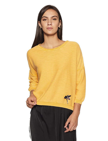 100% Cotton Long Sleeve Round Neck Top