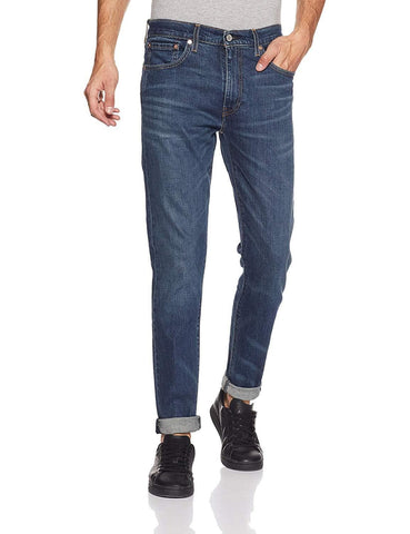 Slim Tapered Fit Zip fly Jeans