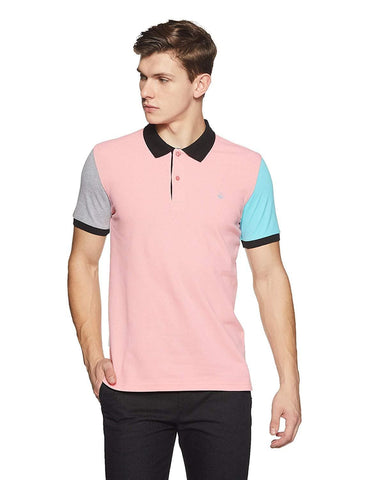 100% Cotton Solid Regular Fit Polo