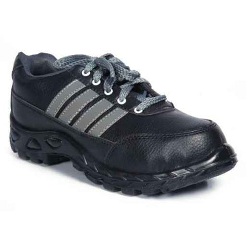Black Safari Pro Sprint Steel Toe Safety Shoes