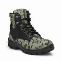 Camouflage Steel Toe Safety Boots