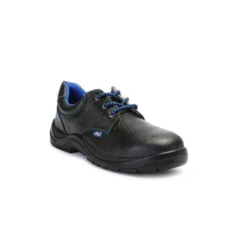 Black Allen Cooper Heat Resistant Black Steel Toe Safety Shoes