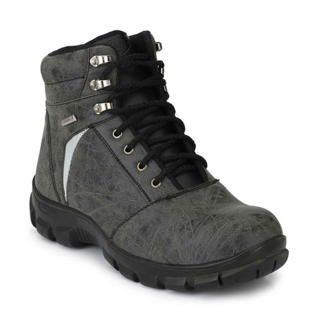 Steel Grey Timberwood Toe Safety Boot